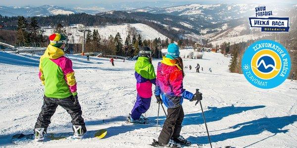 Celodenný skipas do lyžiarskeho strediska Snowparadise Veľká Rača