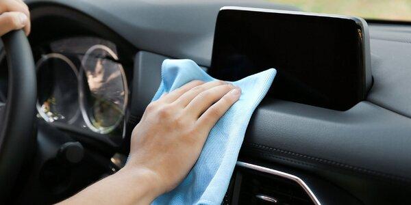 Vyčistenie interiéru a exteriéru auta