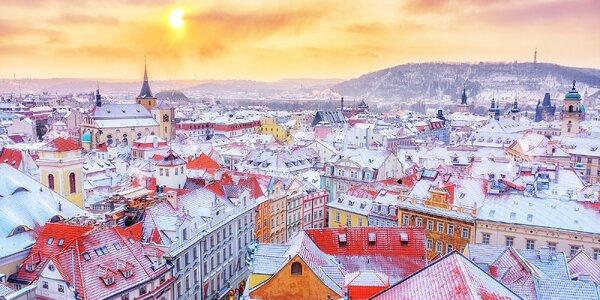Zimná romantika v uličkách Prahy: pobyt s bohatými raňajkami pre dvoch