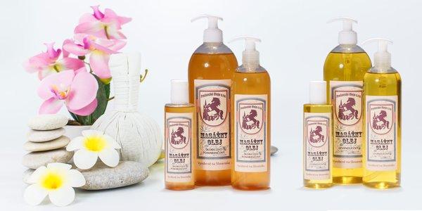 Voňavé masážne oleje - vyrobené na Slovensku