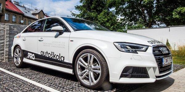 Kondičné jazdy s inštruktorom v špičkovej autoškole PRO Žilina