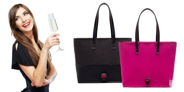 Nielen na víno: kabelky s kohútikom v troch farbách