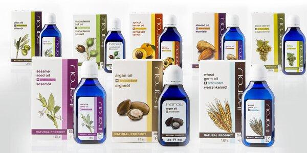 Prírodné telové a pleťové oleje