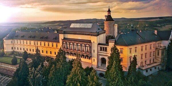 Rozprávková romantika v Chateau Zbiroh s wellness v historickom priestore