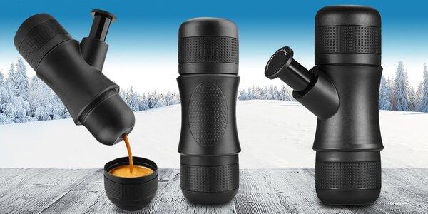 Mobilný espressovar: Vychutnajte si kávu kdekoľvek