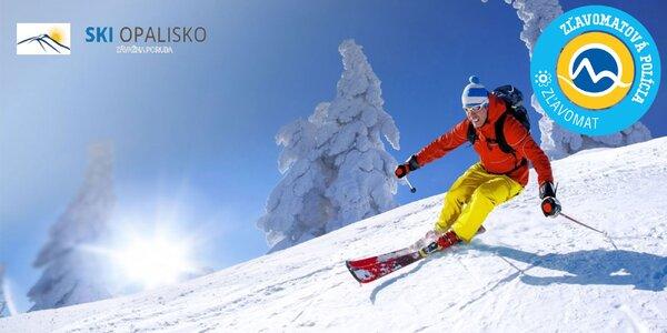 Celodenný alebo večerný skipas do lyžiarskeho strediska SKI OPALISKO Závažná Poruba