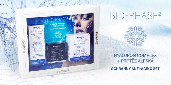Darčeková kazeta BIO-PHASE2® s kyselinou hyalurónovou a plesnivcom alpským