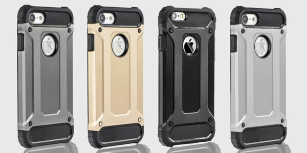 Odolné púzdro pre iPhone, Huawei či Samsung