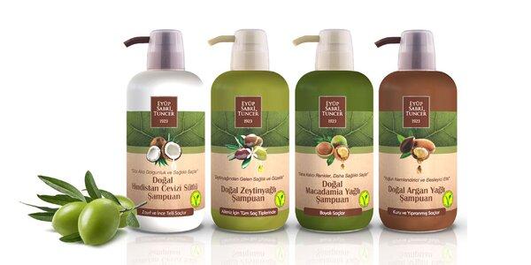 Tradičné turecké šampóny s prírodnými olejmi