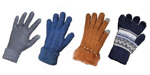 Dámske a pánske hrejivé zimné rukavice