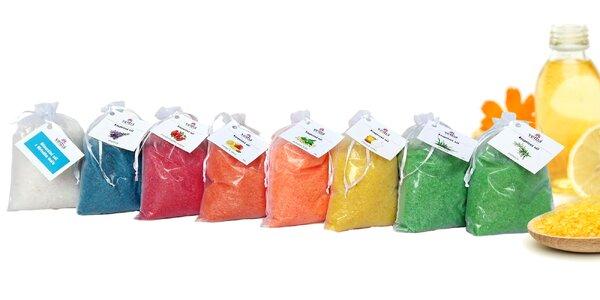 Darčekové balenie kúpeľových solí