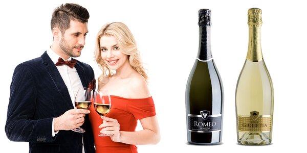 Bublinky pre zamilovaných: Prosecco Rómeo & Júlia