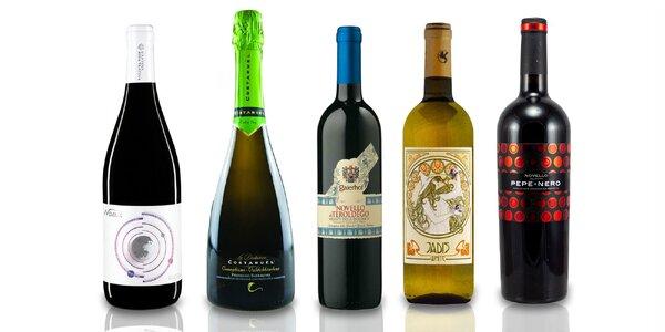 Vína z Talianska: Novello, Prosecco a Jadis