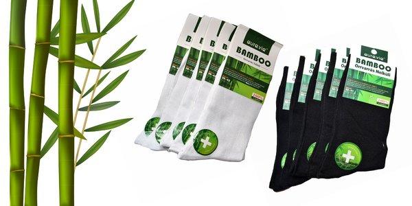 Balenie bambusových ponožiek (5 či 10 párov)