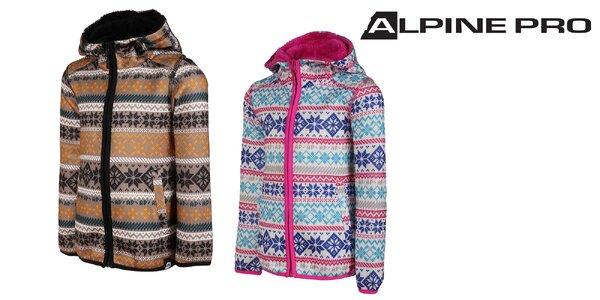 Teplý detský sveter Alpine Pro