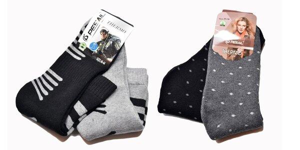 Dámske a pánske termo ponožky Pesail