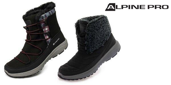 Kvalitná dámska zimná obuv Alpine Pro