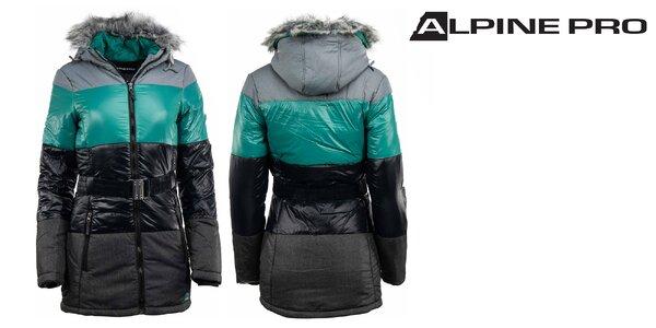 Dámska zimná bunda Alpine Pro s impregnáciou