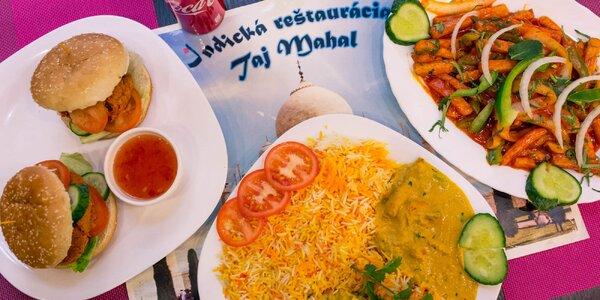 Indické špeciality v Taj Mahal Indian Restaurant