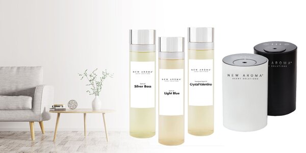 Luxusný vonný olej a profesionálny aroma atomizér