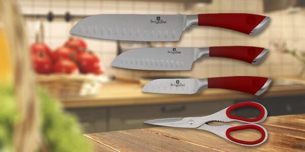 Kvalitná sada nožov s nožnicami BerlingerHaus
