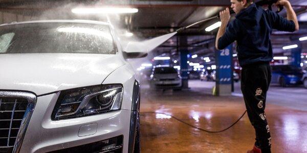Čistenie interiéru a exteriéru vášho vozidla