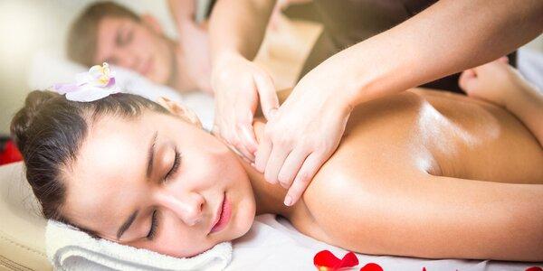 Tradičná thajská masáž pre páry