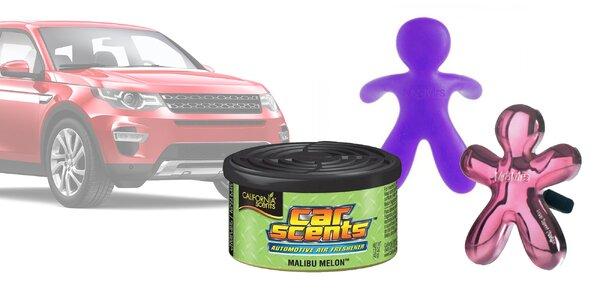 Veľký výber osviežovačov vzduchu do auta