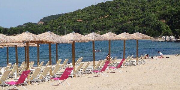 Pobyt v štúdiovom dome na polostrove Chalkidiki vrátane dopravy