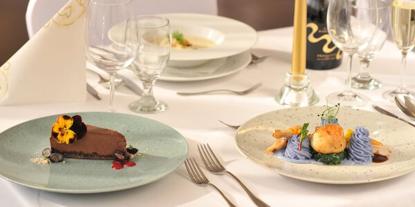 Degustačné menu pre 2 osoby v Hoteli TATRA