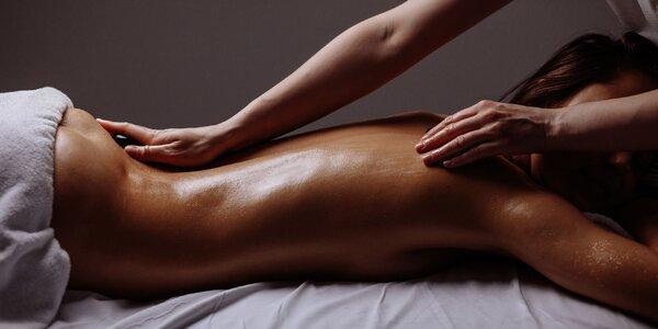 Senzuálna masáž s prvkami tantry, aj pre páry