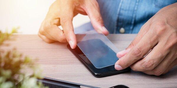 Ochranné tvrdené sklo s rámom PET pre iPhone