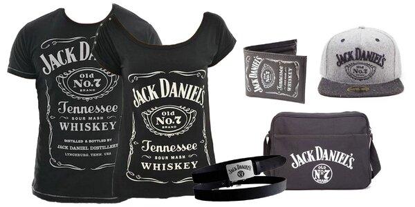 Tričká a módne doplnky s logom Jack Daniel's!