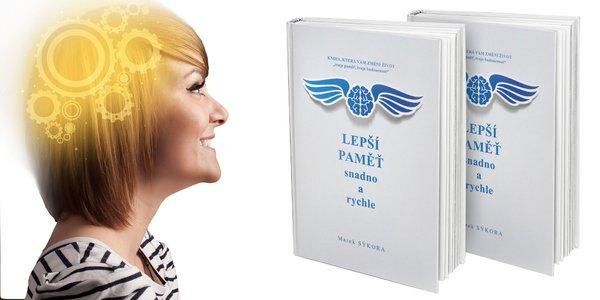 """""""Lepšia pamäť ľahko a rýchlo"""" - kniha plná rád"""