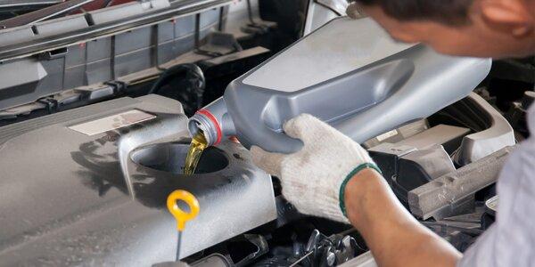 Výmena oleja a olejového filtra aj s kontrolou vozidla a ONLINE rezerváciou