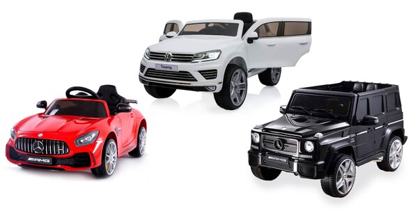 Elektrické autíčka pre malých šoférov