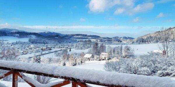 Hotel v Beskydách s voľným vstupom do bazéna, možnosť lyžovania