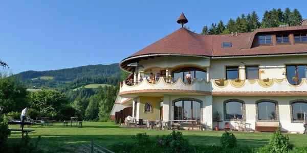 Rakúske Alpy pre dvoch a dieťa do 12 r. grátis v Biolandhaus Arche