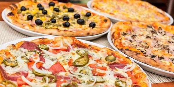 Pizza podľa vlastného výberu