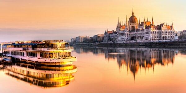 Objavovanie najkrajších miest v Budapešti a oddychová plavba po Dunaji
