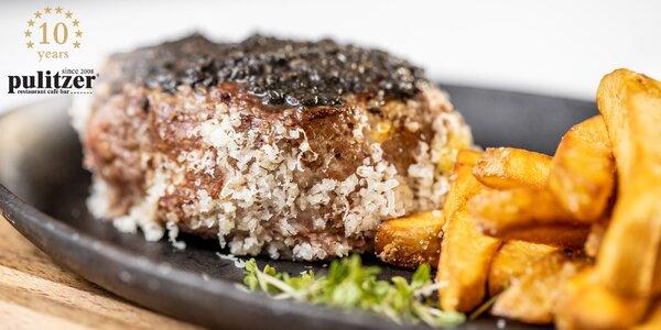 200 g Juhoamerický Angus hovädzí steak
