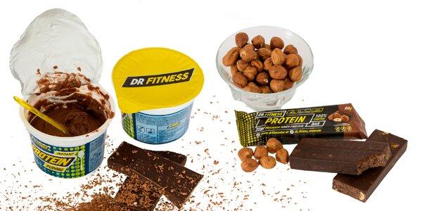 Proteínové tyčinky, puding a výhodné balíčky