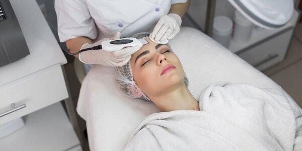 Hĺbkové čistenie pleti manuálne i ultrazvukom