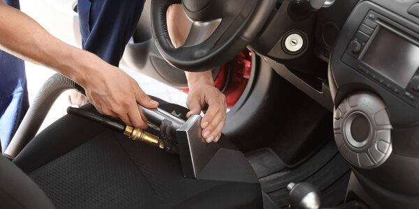 Kompletná údržba vozidla - tepovanie, dezinfekcia a čistenie