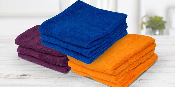 Bavlnené froté uteráky a osušky