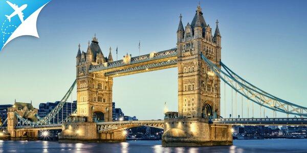Letecký zájazd do Londýna: odlet z BA a KE