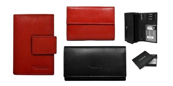 Dámske kožené peňaženky Cavaldi