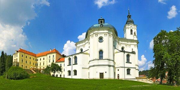 Pobyt na zámku v Moravskom krase: raňajky a 3-chodové večere