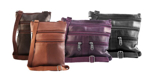Šikovné tašky Steinmeister z pravej kože
