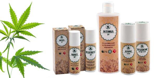 Slovenská prírodná kozmetika z konope
